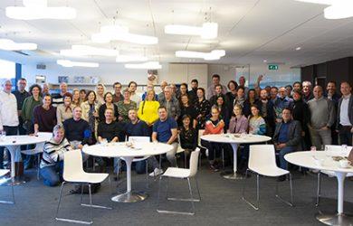 65 creatives through Monsterkamer visiting Turnhout